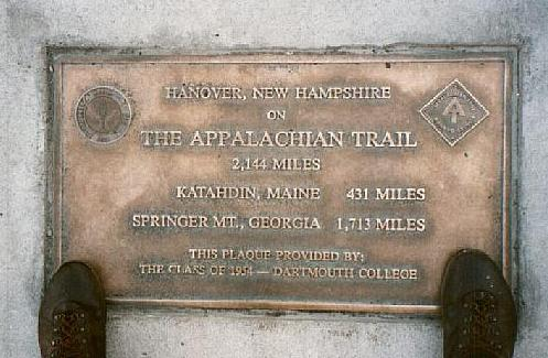 AT In NH - Appalachian trail new hampshire map